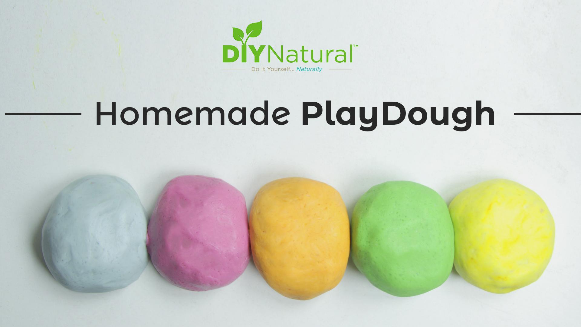 Homemade PlayDough: A Simple and Natural Recipe  DIY Natural