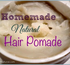 Natural Non-Greasy Hair Pomade and Texturizer