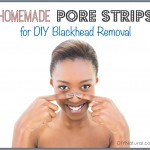 Homemade Pore Strips For DIY Blackhead Removal