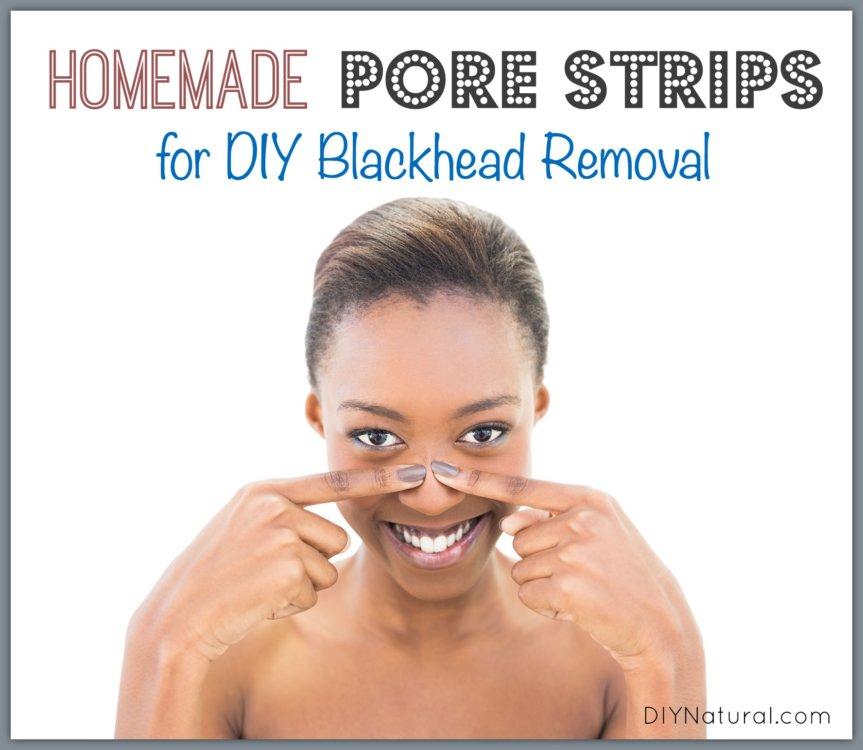 Homemade DIY Pore Strips