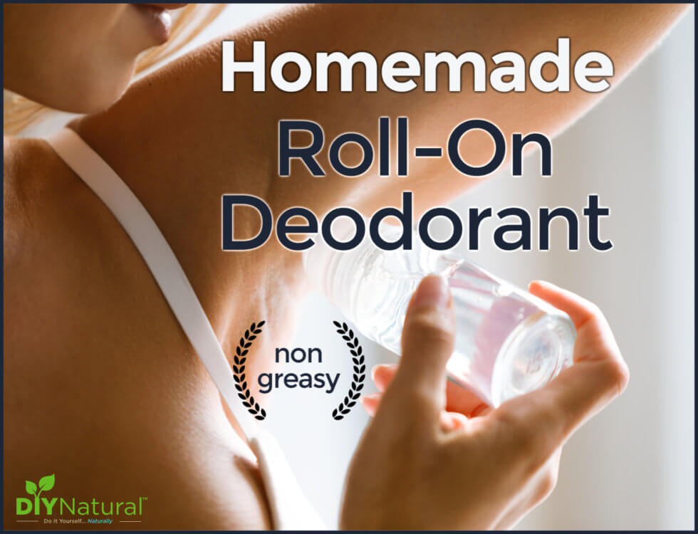 Homemade Roll-On Deodorant