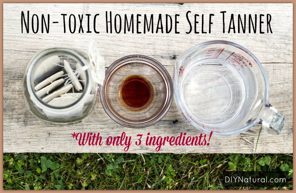 Homemade Self Tanner