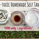 Homemade Self Tanner – A Natural DIY Sunless Tan