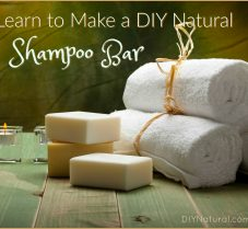 Learn To Make A Natural Homemade Shampoo Bar