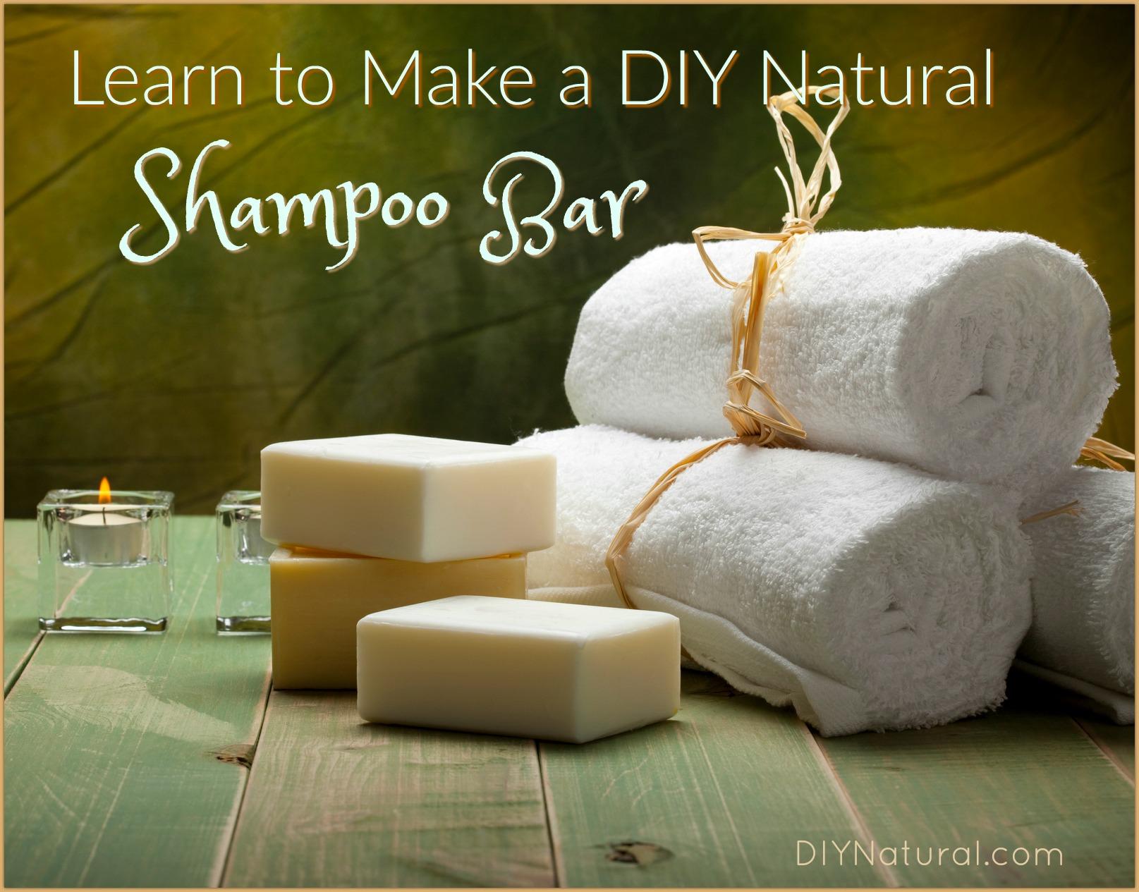 Homemade Shampoo Bar Make Natural Diy Shampoo Bars