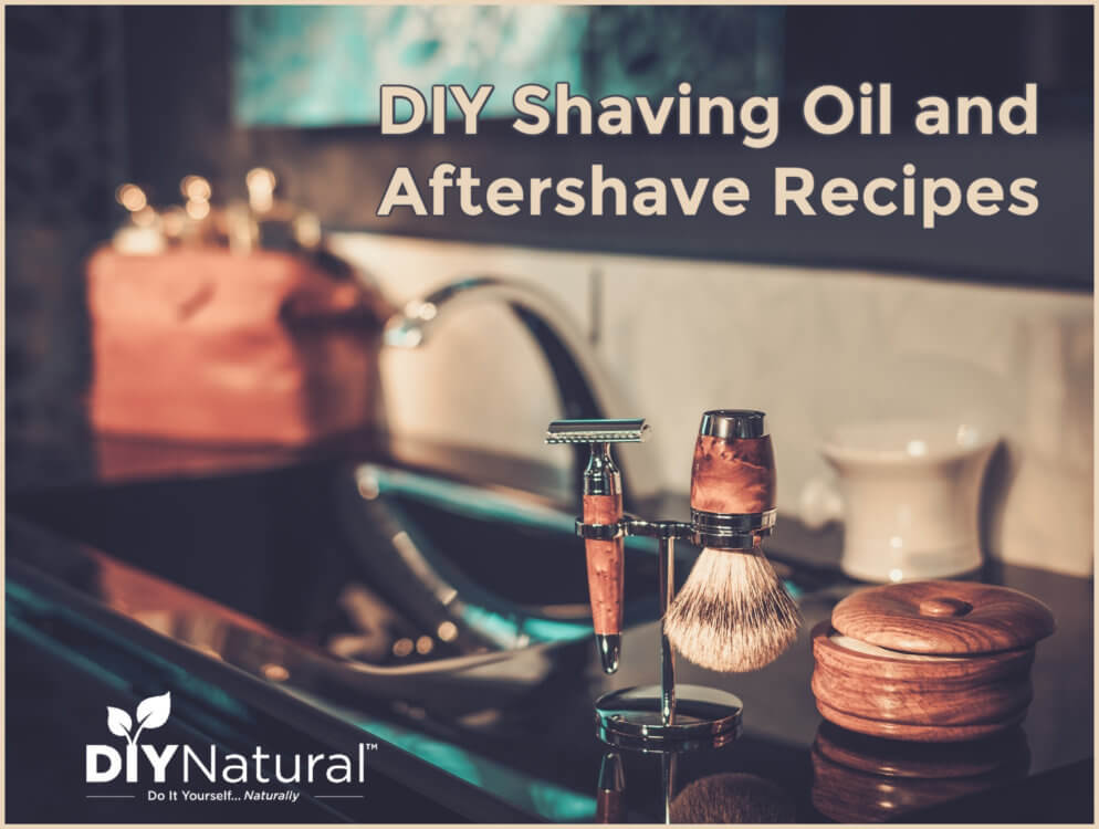Homemade Shaving Cream DIY Oil Aftershave