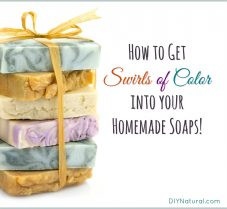How to Add Swirls of Color to Your Handmade Soap