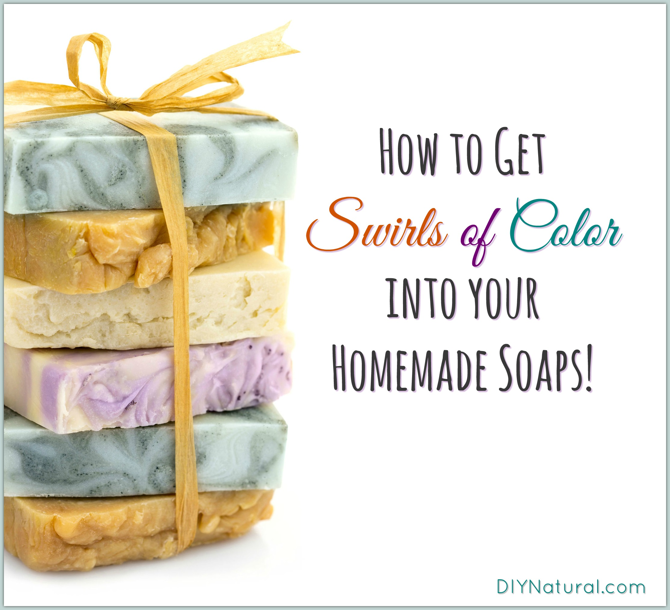 Homemade Soap Tips How To Add Swirls Of Color To Your Soap