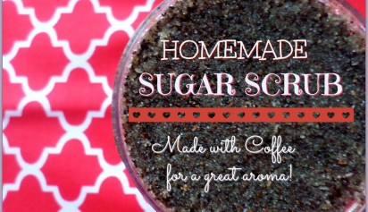 Homemade Sugar Scrub Coffee