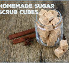 Homemade Sugar Scrub Cubes Make Great Gifts