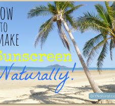 A Natural Homemade Sunscreen Recipe That Works!