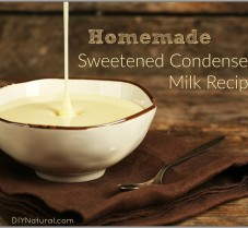 A Naturally Sweetened Homemade Condensed Milk