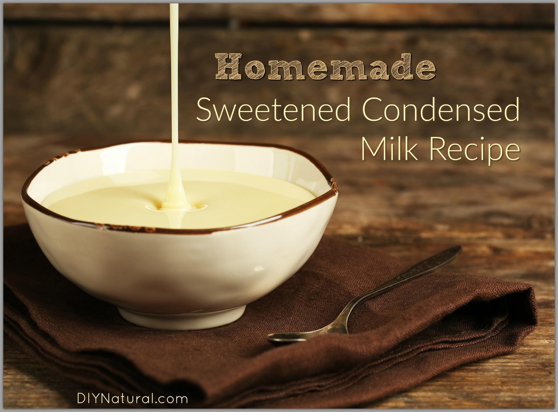 Delicious condensed milk Home made 16