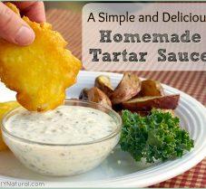 Healthy Homemade Tartar Sauce Recipe: With Yogurt