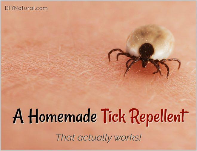 Homemade Tick Repellent DIY
