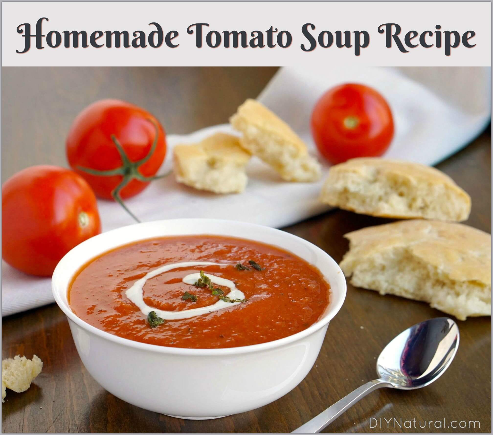 Tomato Soup Recipe Delicious Homemade Tomato Soup Everyone Loves