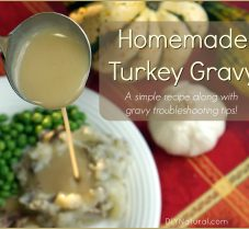 A Simple and Delicious Homemade Gravy Recipe