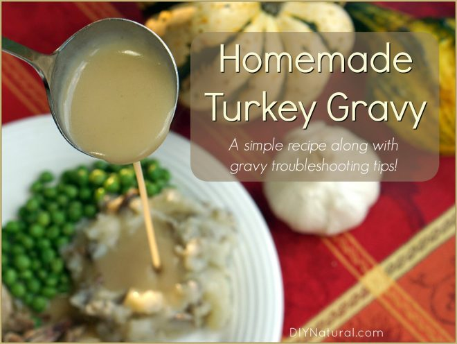 Homemade Turkey Gravy Recipe