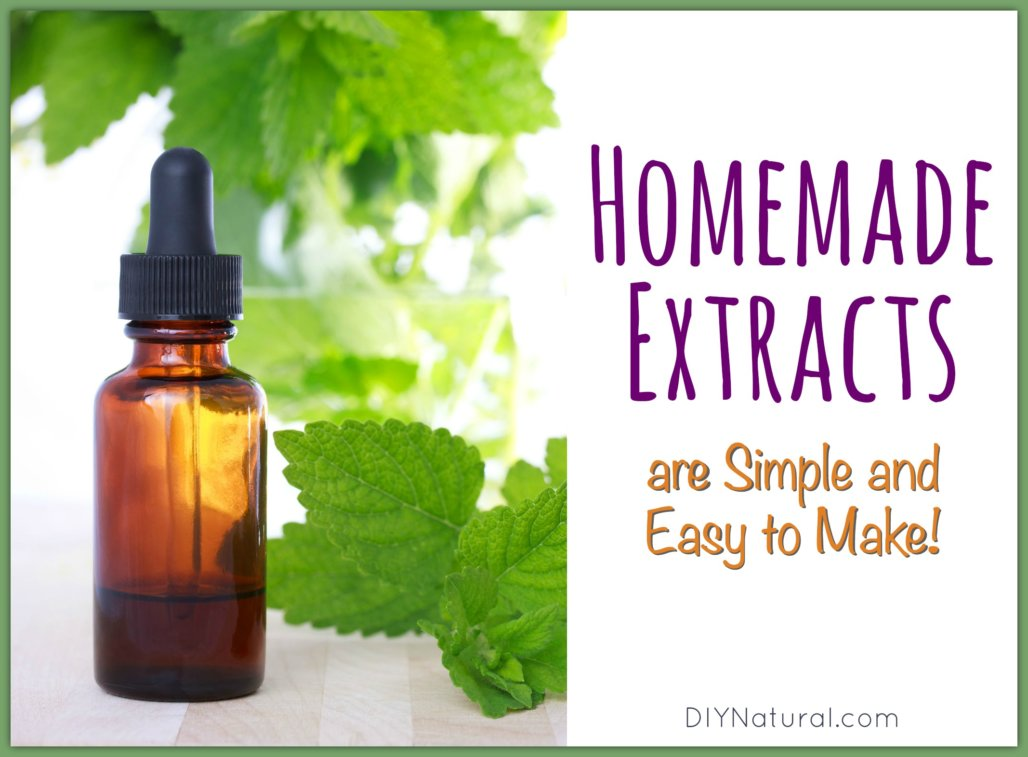 Diy Herbal Extracts
