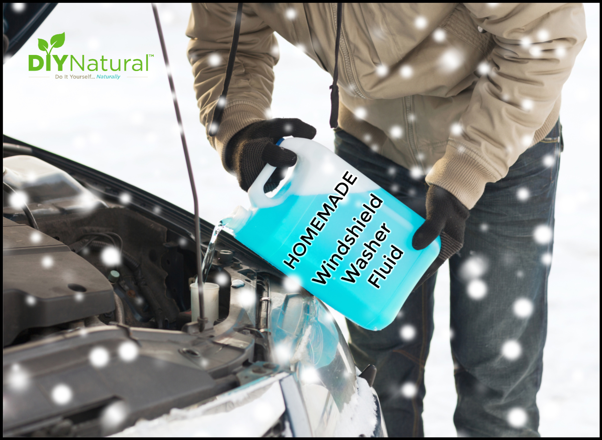 Homemade Windshield Washer Fluid: Non-Toxic
