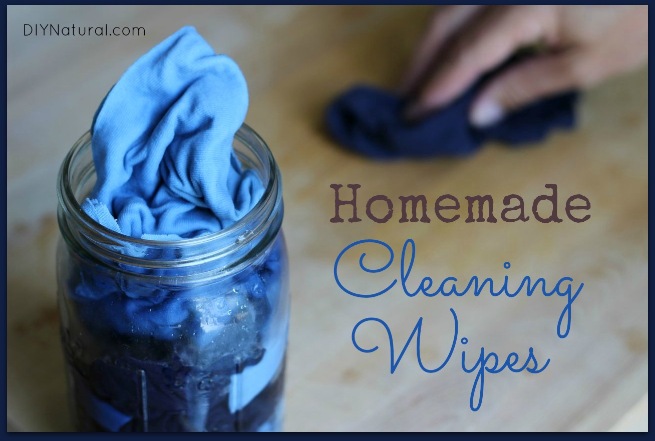 homemade wipes for cleaning and disinfecting