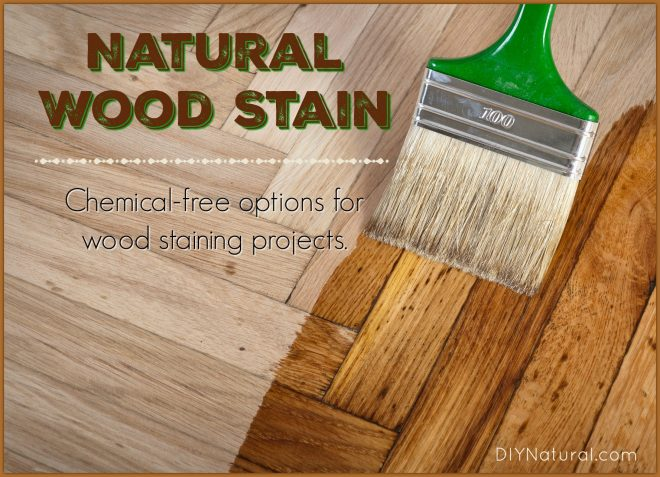 Make Your Own Wood Stain Paint