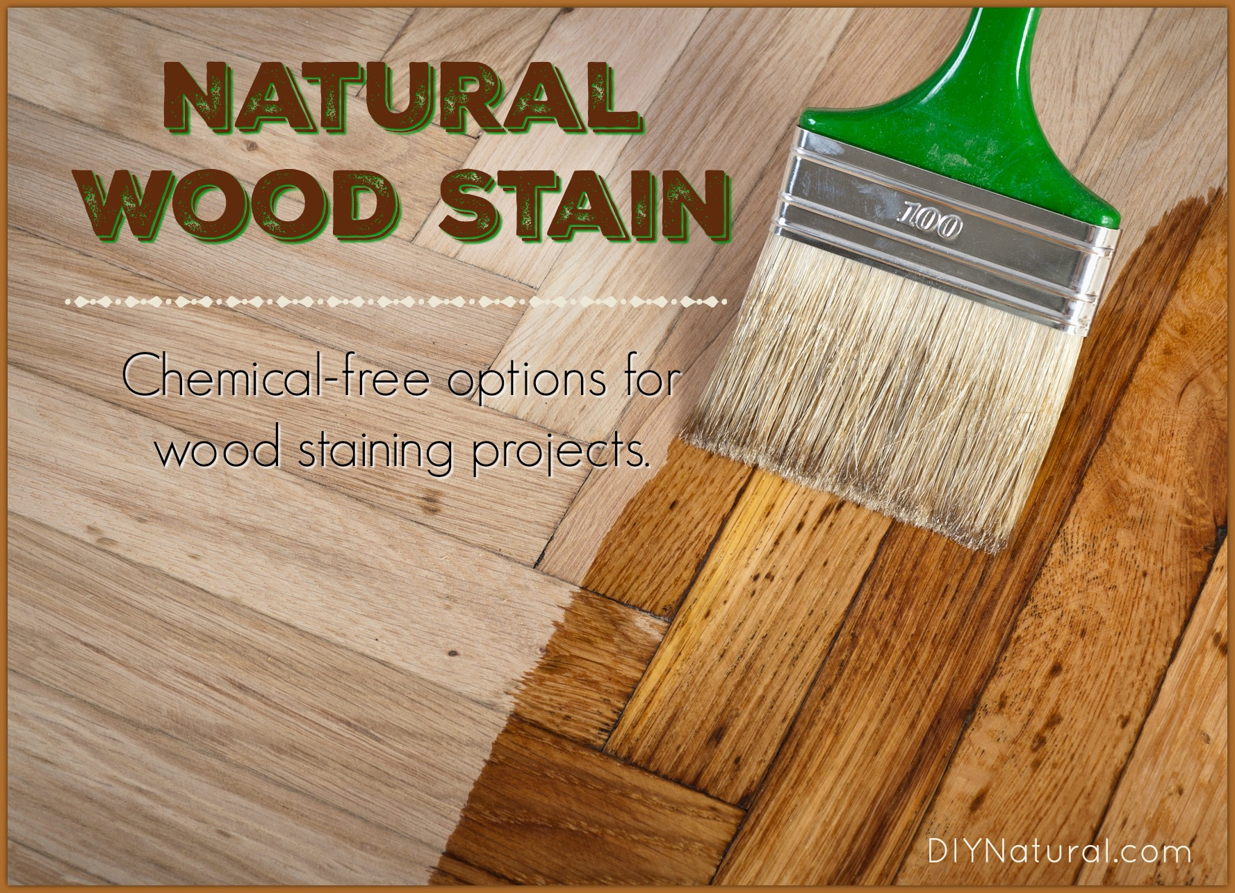 Homemade wood stain learn to make natural at home