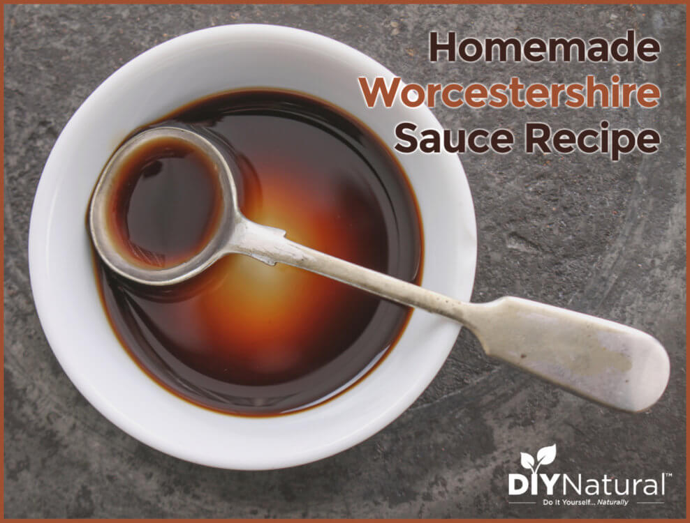 Homemade Worcestershire Sauce Recipe