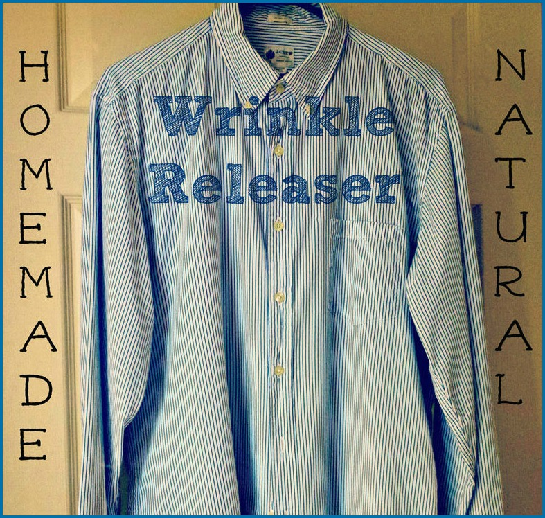 Homemade Wrinkle Releaser