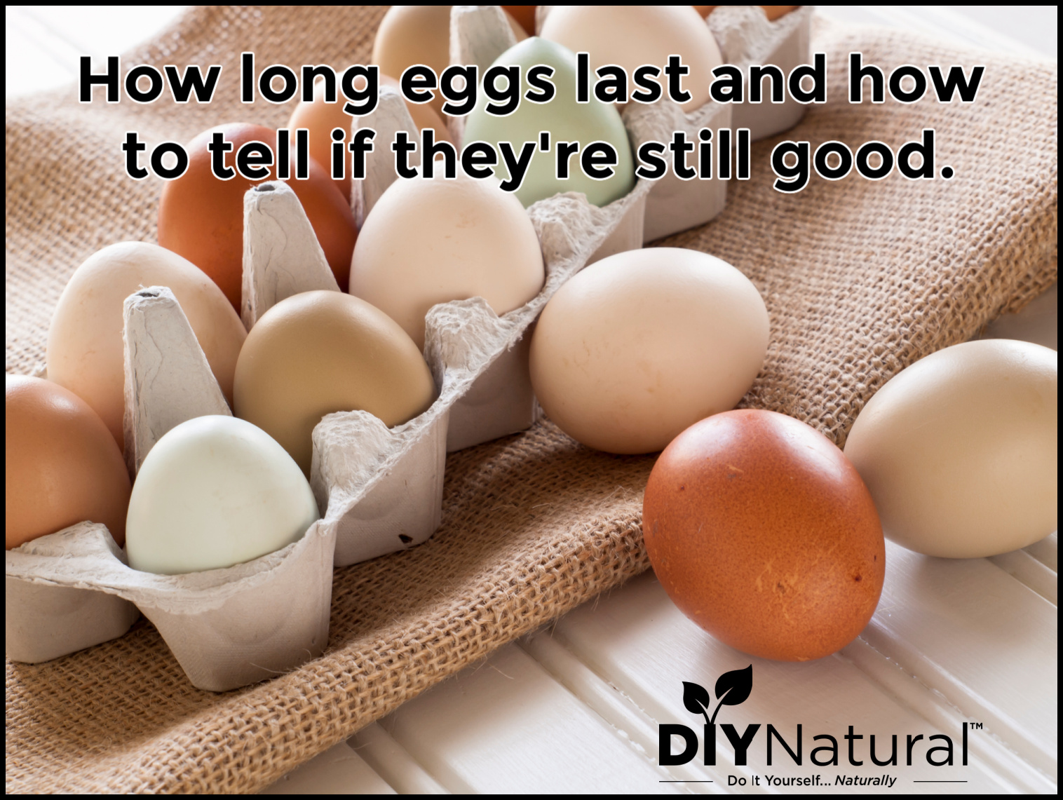How Long Eggs Last and How to Tell if They're Fresh