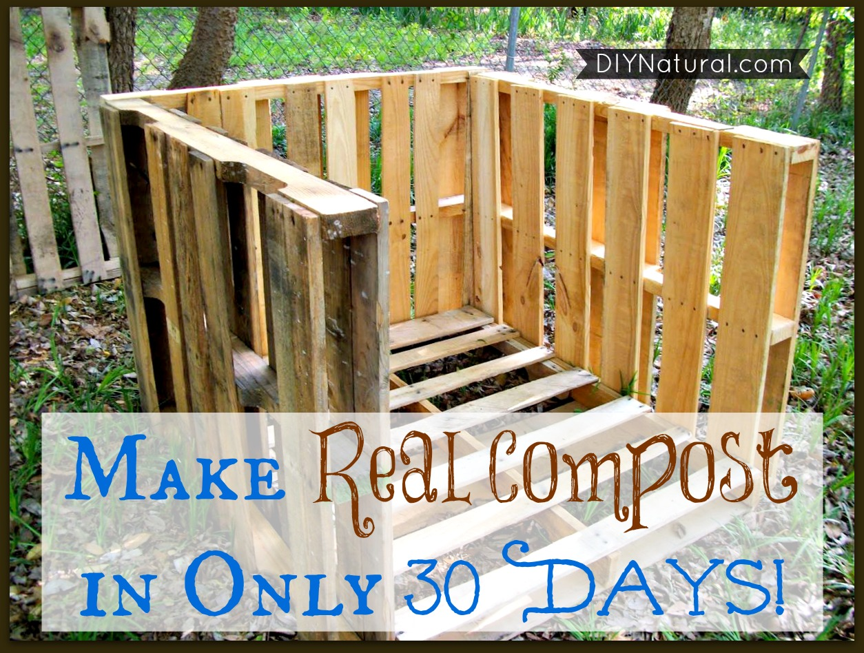 How To Compost Quickly From Start To Finish in Just 30 Days