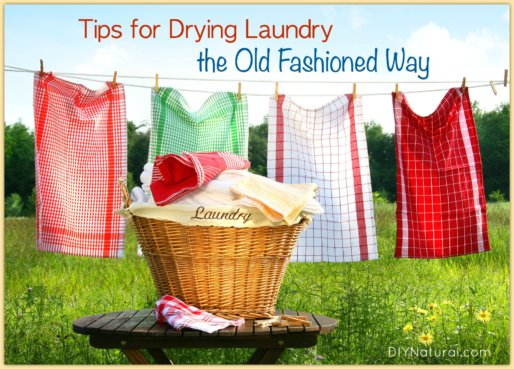 How To Do Laundry Line Drying
