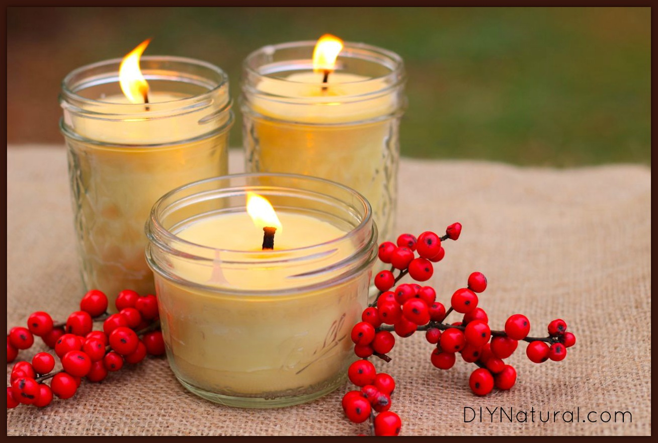 How To Make Beeswax Candles 1
