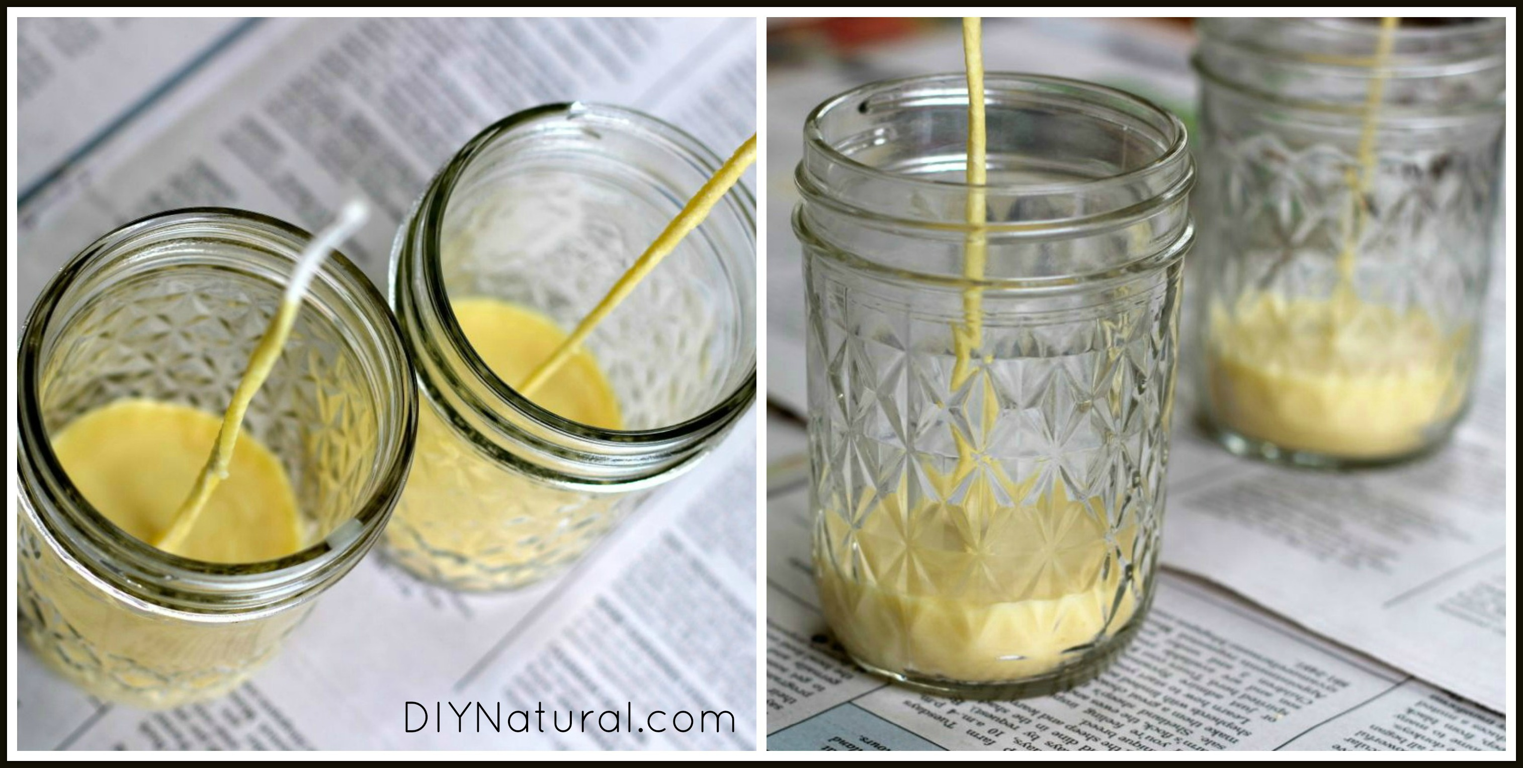 How To Make Beeswax Candles 5