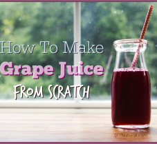 How To Make Grape Juice at Home From Scratch
