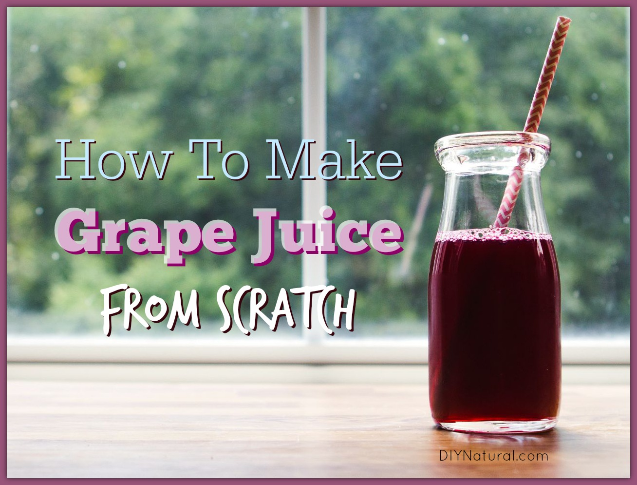 how to make grape juice at home from scratch. Black Bedroom Furniture Sets. Home Design Ideas