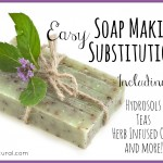 Fun and Easy Substitutions for Making Soap at Home