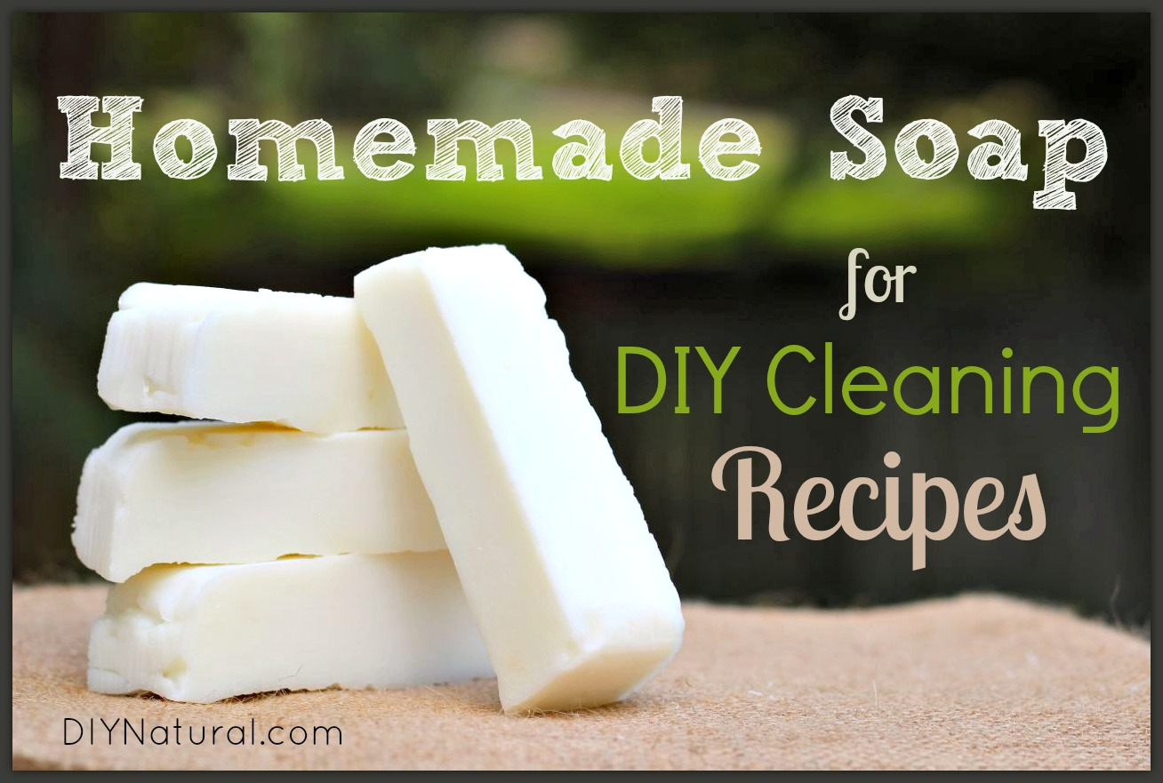 Cleaning Soap A Natural Basic Bar Soap Recipe For Diy Cleaning Recipes