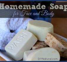 Learn to Make All-Natural Soap For Face and Body