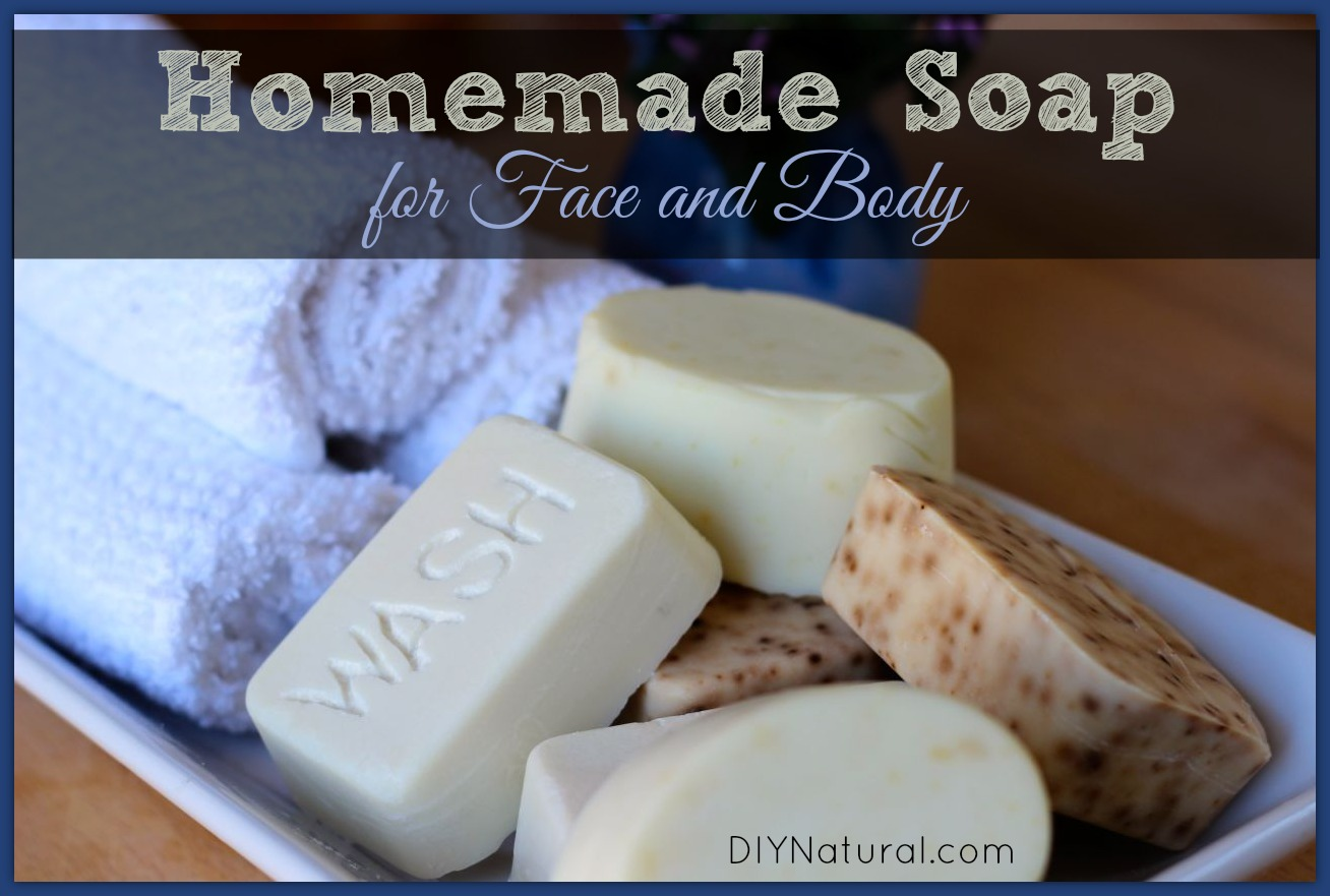 How To Make Soap: Homemade Natural Hand and Body Bar Soap Recipe