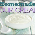 How To Make Sour Cream & Creme Fraiche Naturally