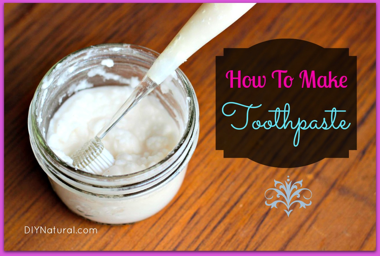 Homemade Toothpaste A Natural Recipe That Is Simple And Effective. Easy Homemade Whitening Toothpaste Recipe With Baking Soda