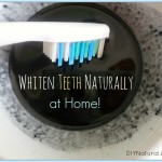 Whiten Teeth Naturally At Home with Activated Charcoal