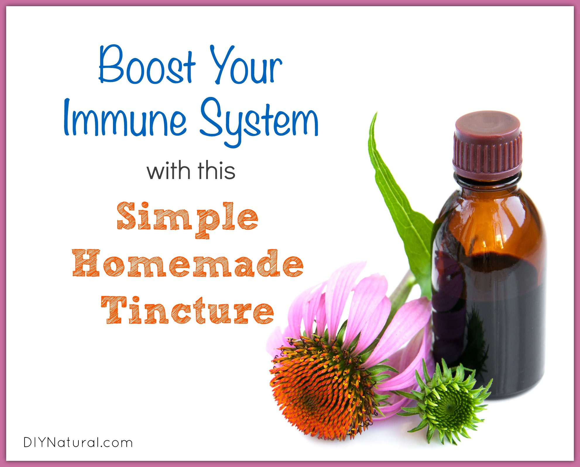 How To Boost Immune System With This Homemade Tincture