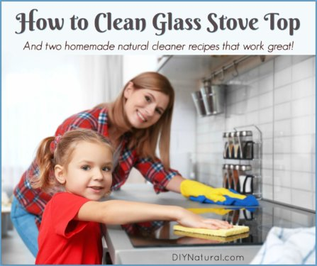 How to Clean Glass Stove Top