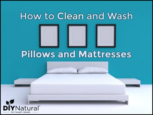 How to Clean Pillows Mattress