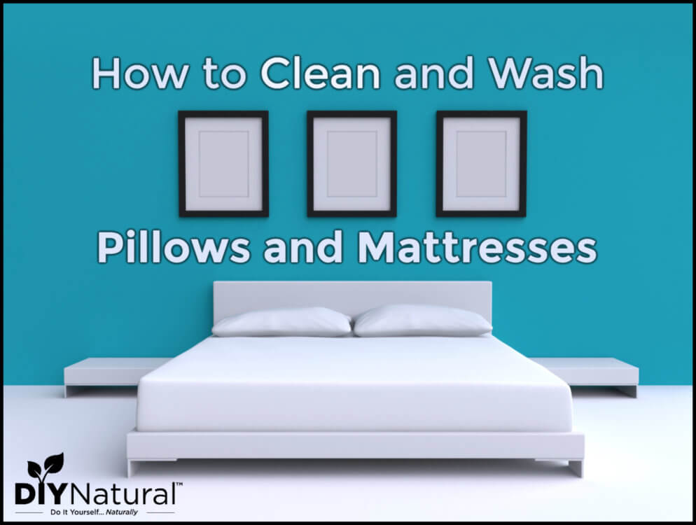 How to Clean Pillows Mattress