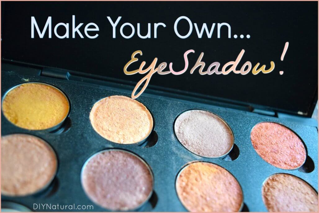 How to Make A Brazilian Clay Eyeshadow Palette
