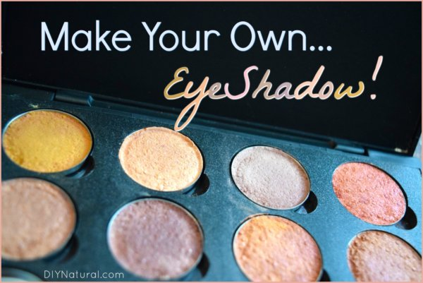 How to Make Eyeshadow DIY