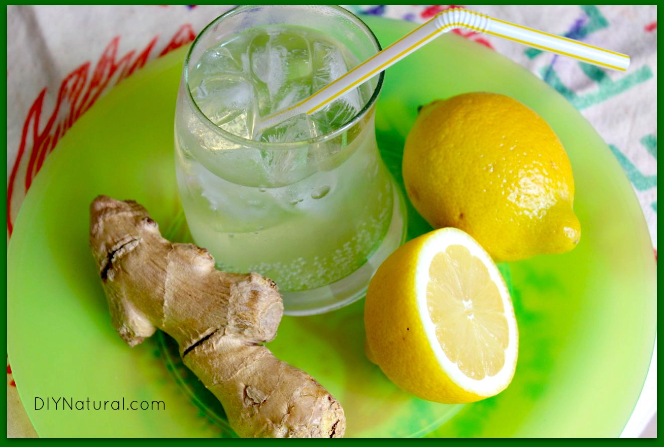 How To Make Ginger Ale - Sweetened Naturally